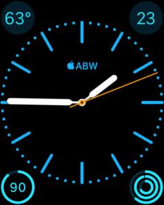 apple watch monogram logo